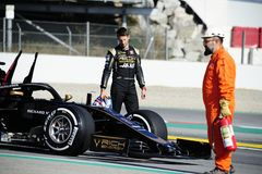 Formel 1-Wintertests 2019 lizenzfreie stockfotografie