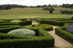 Formele tuin Royalty-vrije Stock Afbeeldingen