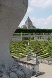 Formele tuin in Frankrijk Royalty-vrije Stock Afbeelding