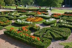Formele tuinen Stock Afbeelding
