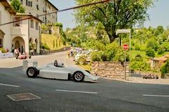 FormelItalia bil på Bergamo den historiska granda prixen 2017 Royaltyfri Bild