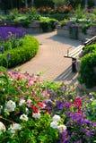 formell trädgård Arkivbild