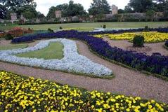 formell trädgård Arkivfoton