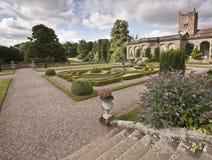 Formella askträdgårdar Arkivfoto