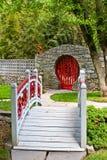 formella trädgårdar Arkivfoto