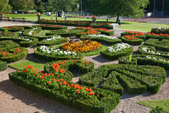 formella trädgårdar Fotografering för Bildbyråer