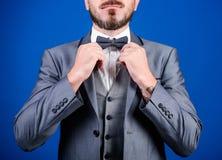 Formellt dr?ktomslagsslut upp Manlig mode och estetiskt Formell dr?kt f?r aff?rsman Estetisk klassisk stil perfekt royaltyfri bild