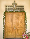 formellt utsmyckat för dörringång arkivbild