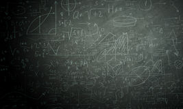 Formeln und Zahlen Lizenzfreie Stockfotos
