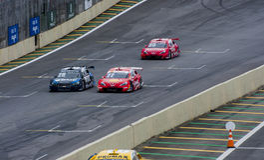 FormelPorsche Race royaltyfri bild
