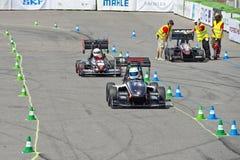 Formelstudent Endurance Race Royaltyfri Fotografi