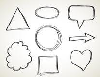 Formen - Handzeichen Stockbild