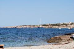 Formentera海滩 库存图片