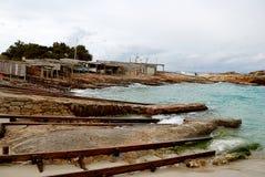 Formentera海滩 免版税库存照片