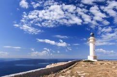 Formentera φάρος Στοκ Εικόνες