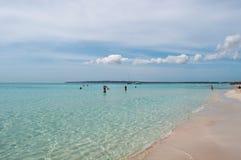 Formentera, Balearic Island, Espanha, Europa Imagens de Stock