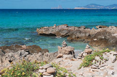 Formentera, Balearic Island, Espanha, Europa Fotos de Stock