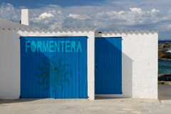 Formentera balearic islands in spain Royalty Free Stock Photo