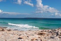 Formentera, Balearic wyspy, Hiszpania, Europa Fotografia Stock