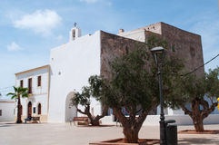 Formentera, Balearic wyspy, Hiszpania, Europa Obrazy Royalty Free