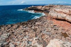 Formentera, Balearic wyspy, Hiszpania, Europa Zdjęcia Stock