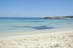 Formentera Beach Royalty Free Stock Photography