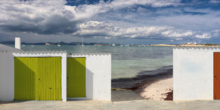 Formentera beach Royalty Free Stock Photos