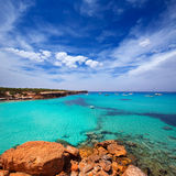 Formentera Cala Saona beach Balearic Islands Stock Images