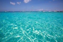 Formentera Cala Saona beach Balearic Islands Stock Photography