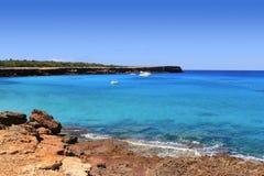 Formentera Cala Saona mediterranean best beaches Stock Images