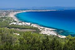 Formentera eiland, Spanje Royalty-vrije Stock Foto's