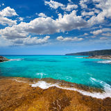 Formentera Escalo de San Agustin beach Stock Image