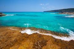 Formentera Escalo de San Agustin beach Stock Images