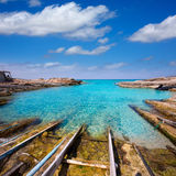 Formentera Escalo de San Agustin beach Royalty Free Stock Photography