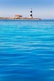 Formentera Freus faro en Pou lighthouse Porcs Stock Photo