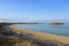 Formentera, Illetes Zdjęcie Royalty Free