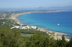 Formentera-Insel Stockbild
