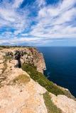 Formentera-Küstenlinie Lizenzfreies Stockfoto