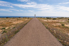 Formentera La Mola lighthouse Royalty Free Stock Photos