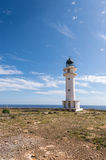 Formentera La Mola lighthouse Stock Photo