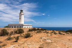 Formentera La Mota lighthouse Stock Photos