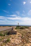 Formentera LaMola fyr Royaltyfri Foto