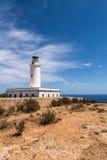 Formentera LaMota fyr Fotografering för Bildbyråer