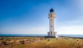 Formentera-Leuchtturm Stockbild