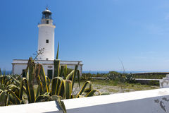 Formentera lighthouse Royalty Free Stock Image