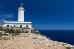 Formentera lighthouse Royalty Free Stock Photos