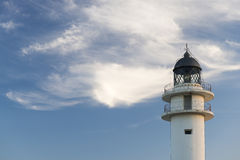 Formentera lighthouse Royalty Free Stock Images