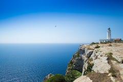 Formentera Lighthouse Royalty Free Stock Photo