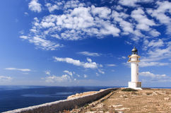 formentera lighthouse Stock Photo