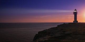 Formentera lighthouse Stock Photo